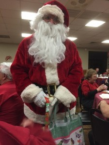 Santa has candy!