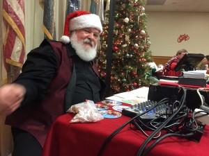 DJ Santa...